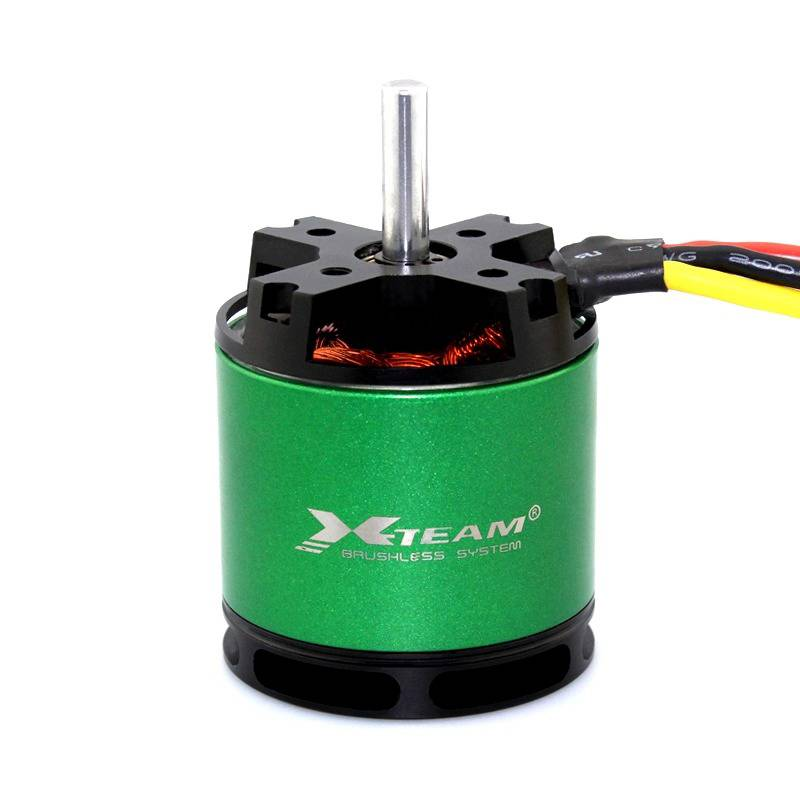 X-TEAM T600 Sensorless Outrunner Brushless Motor For 1400KV Airplane Remote Control Helicopter Toy M