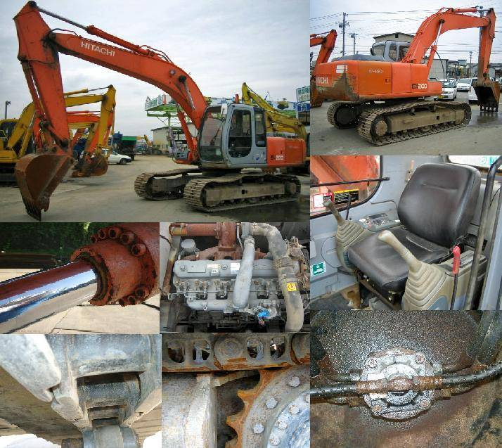 Hitachi Hydraulic Excavator(Ex200/EX60/EX120)