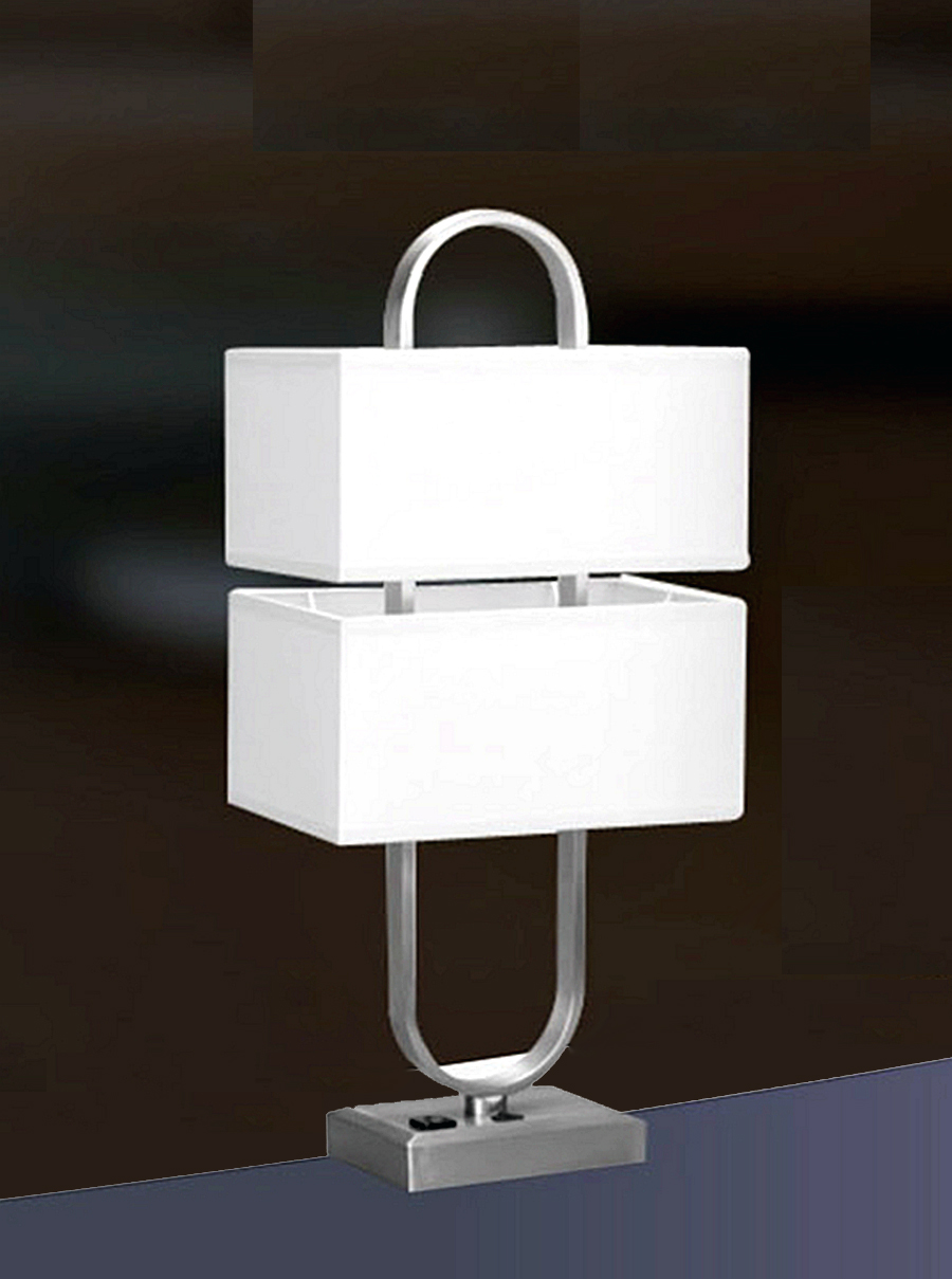 table lmap with power outlet and usb port