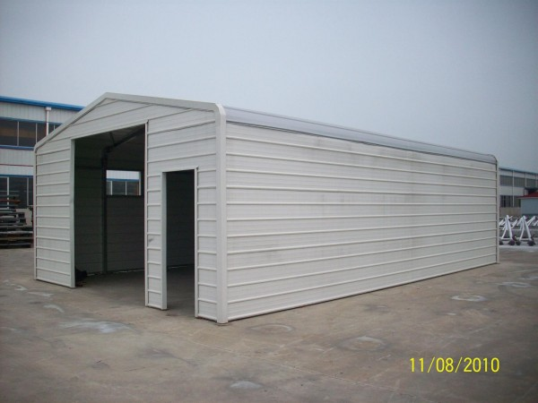 Steel structure warehouse garage