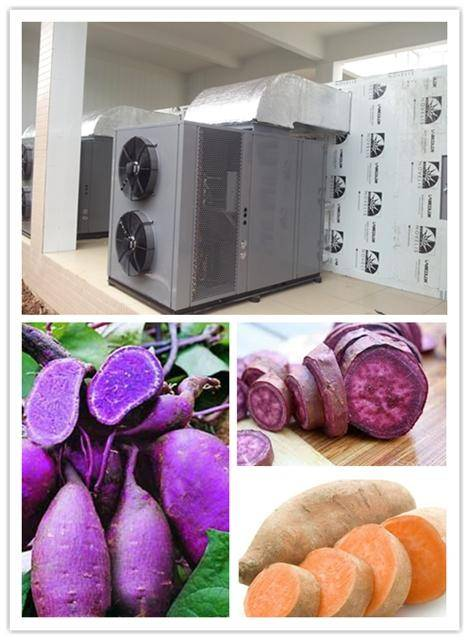 yam dryer, basic on heat pump dryer,air source heat pump, factory price, energy saving drying machin