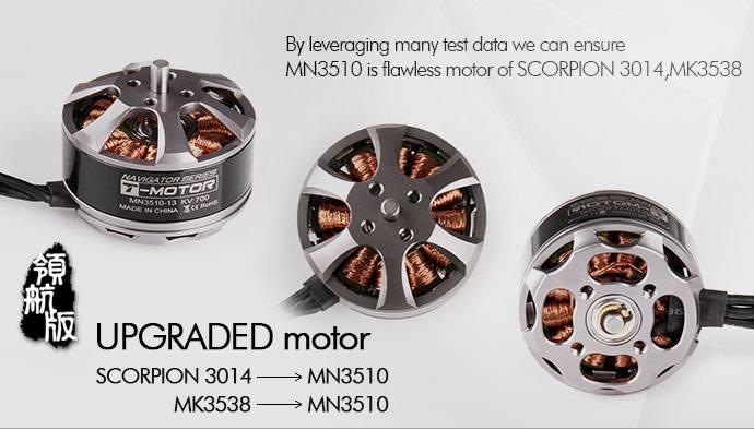 T-Motor Brushless Outrunner Motors MN3510  700KV