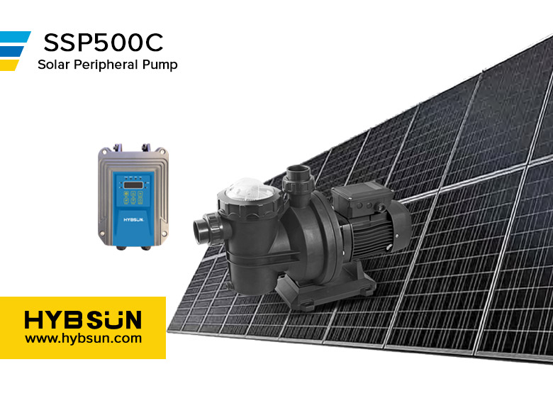 HYBSUN|SSP |Solar Swimming Pool Pump | SSP500C