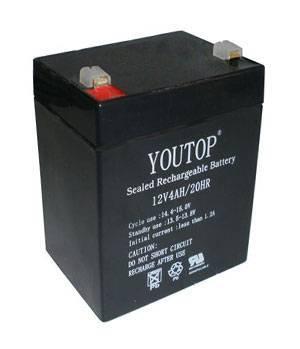 12V 4Ah lead acid battery
