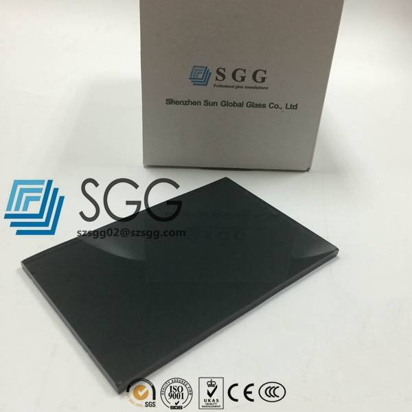 4mm 5mm 5.5mm 6mm 8mm 10mm 12mm Dark Gray/Grey Tinted Float Glass