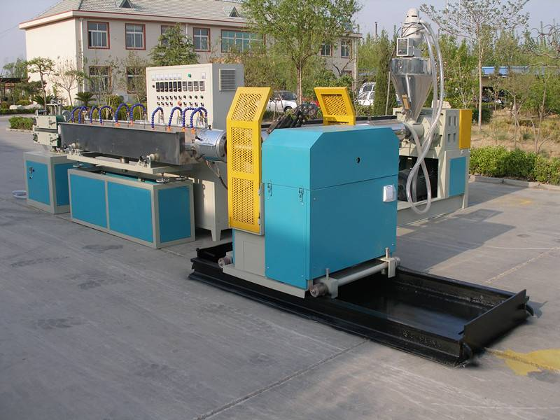 PVC spiral Steel Wire Reinforced Transparent Hose-Production Line
