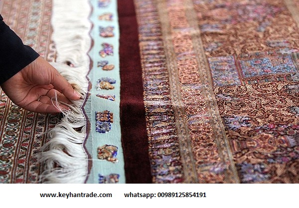 persian/iranian luxtury 100% silk hand made carpets/rugs