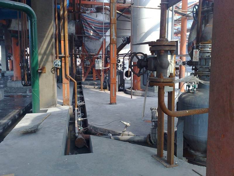 Ash Transfer System of Cyclone Dust Collector of Gas Making Furnace