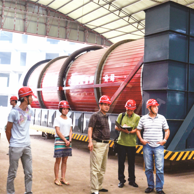 Professional Customized Sludge Rotary Drum Dryer from China