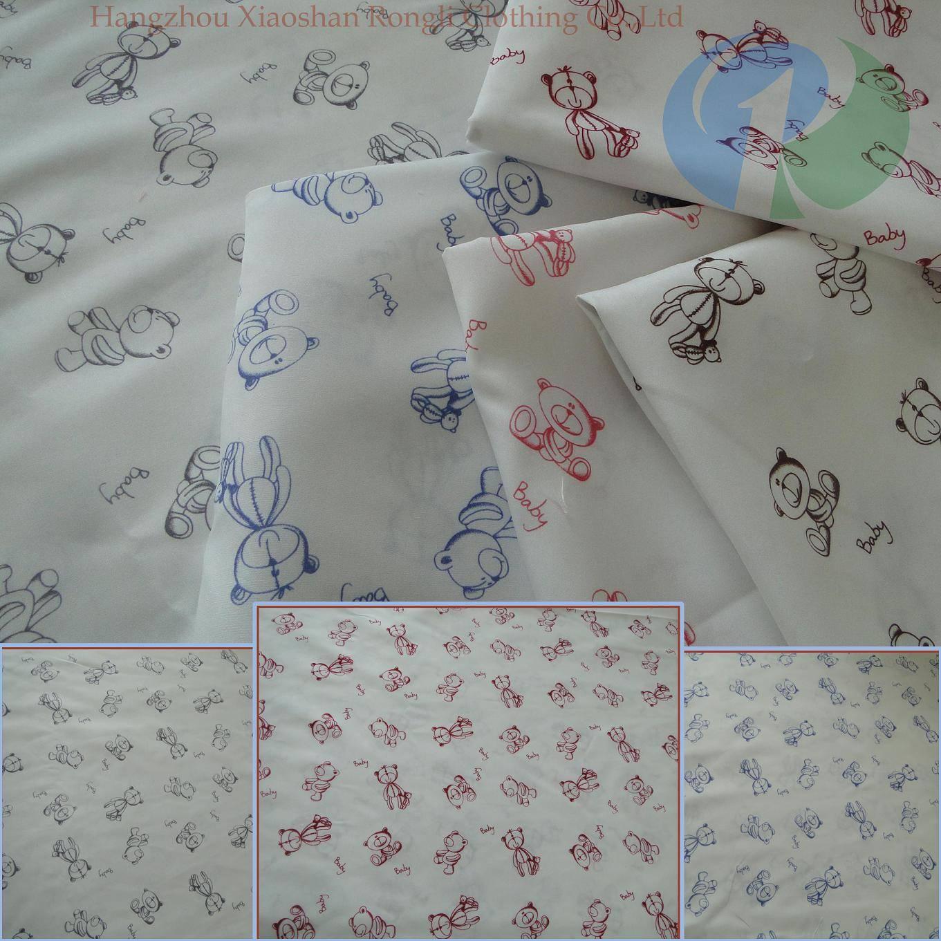 home children cartoon woven mattress fabric RLP7~12