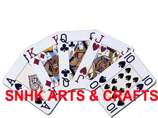 SNHK 100% plastic playing cards