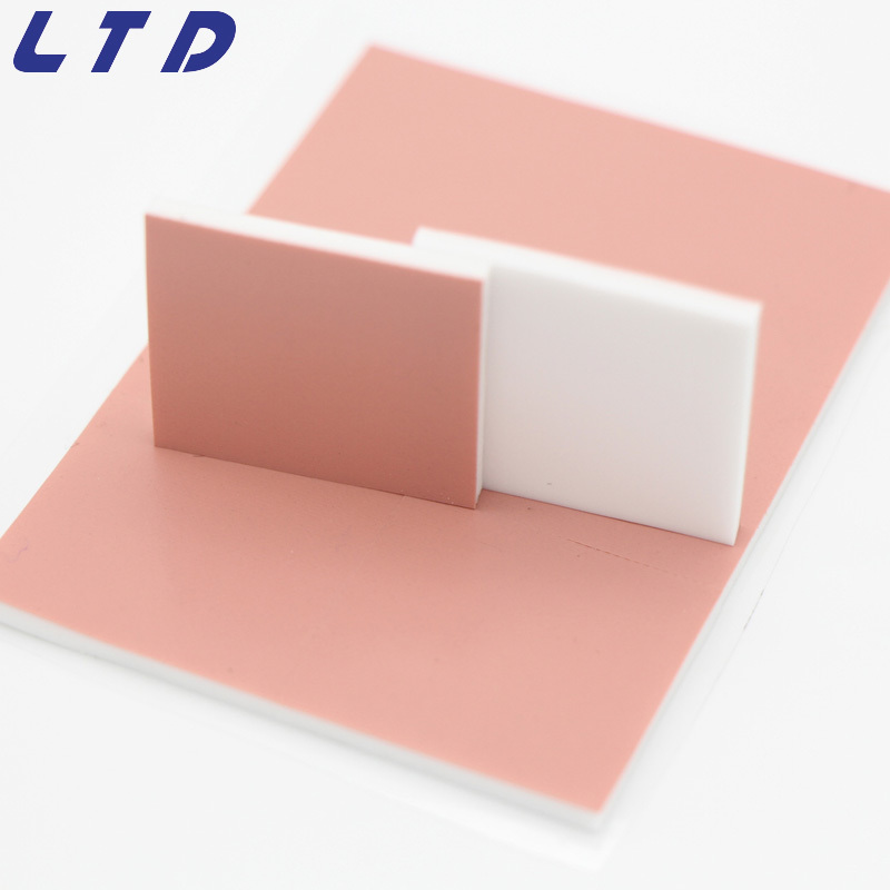 LCP Silicone Thermal Pad With One Side Silicone Insulation Cloth