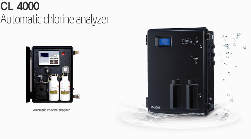 Automatic chlorine analyzer CL 4000