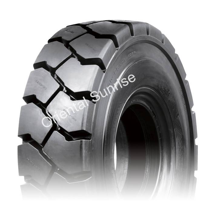 Container handler tire 14.00-24