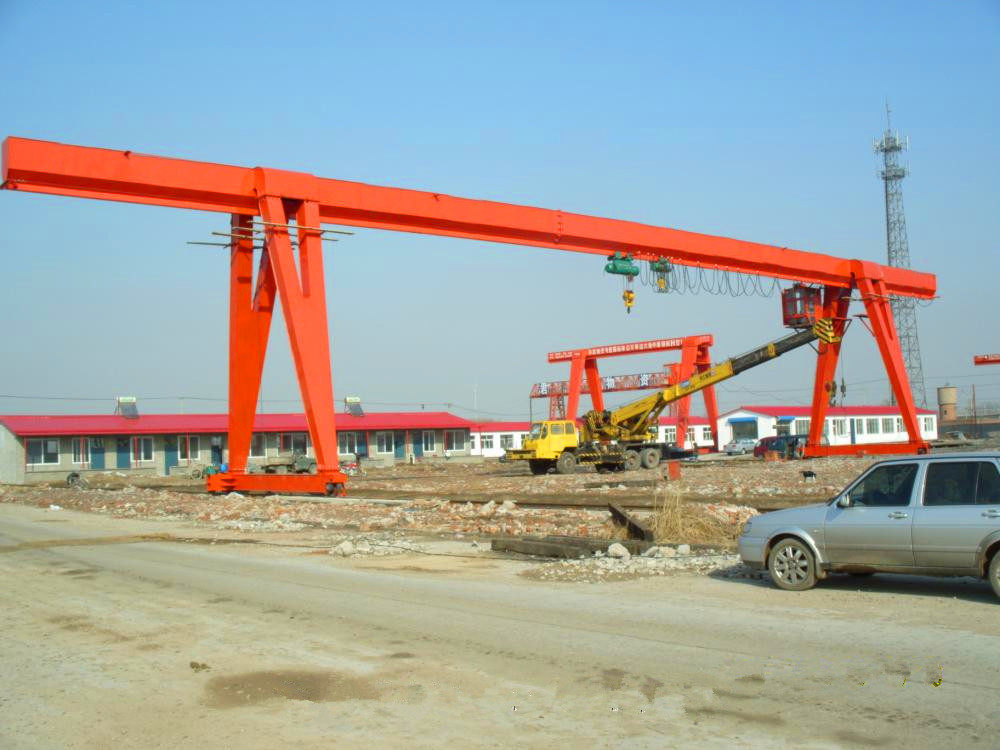 Precast Yard Lifting Single Beam Gantry Crane Price