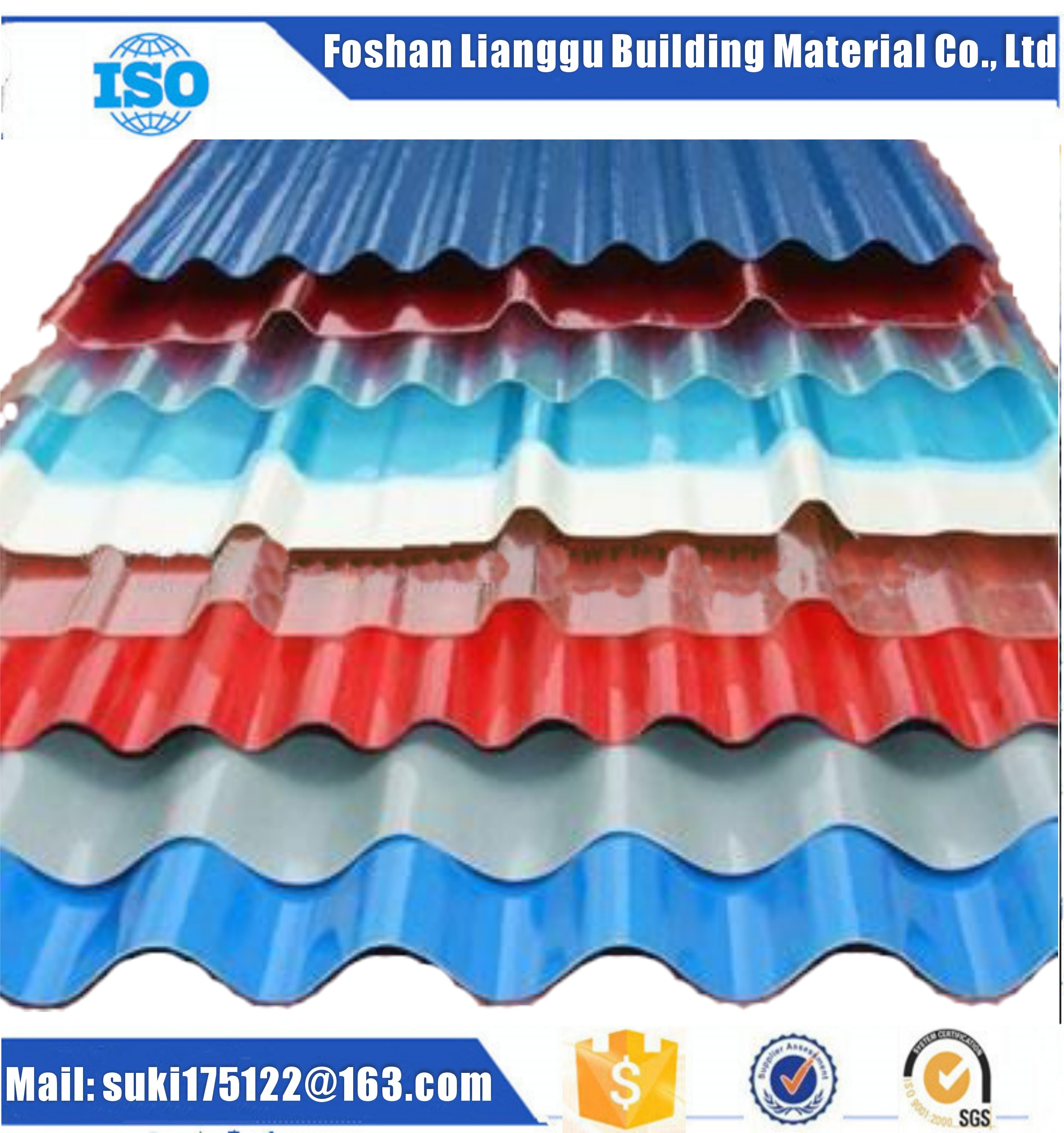 Fiber glass transparent roofing sheet/panel/tile