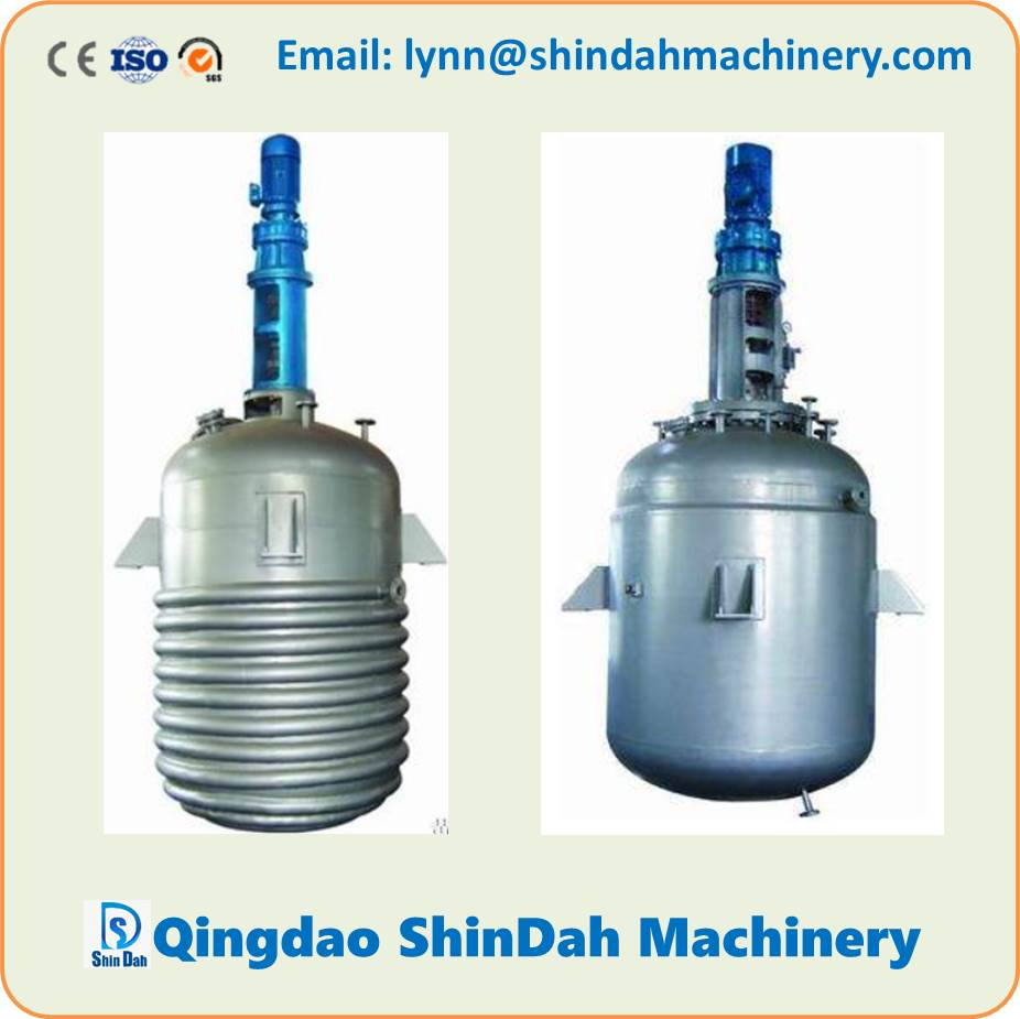 High Quality Stainless Steel Reactor Kettle Jacket Reactor Limpet Coil Reactor Chemical Reactor