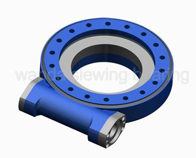 single worm enclosed housing slewing drive (SE series)