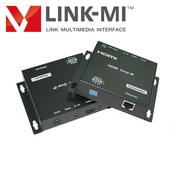 LINK-MI 120m hdmi super extender by cat-5e/6 allowed IR remote control,120m HDMI extender cat5e x1 o