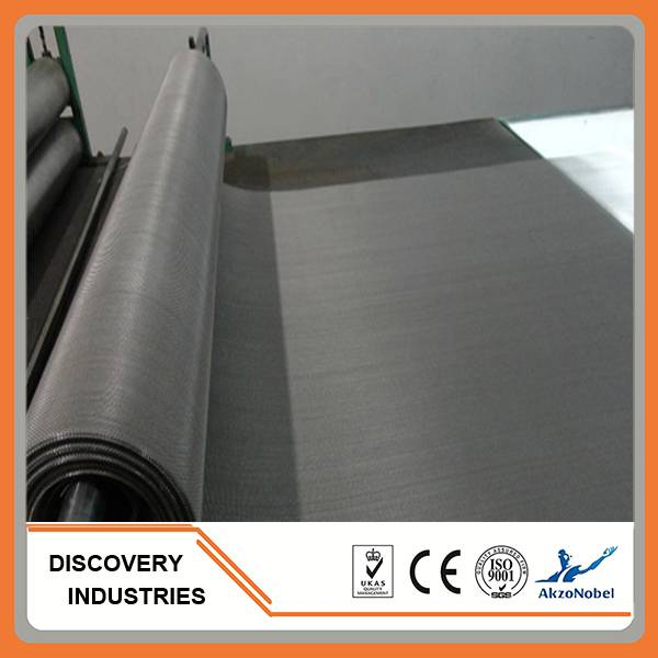 Fiberglass  stainless steel window screen