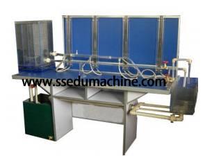 Bernoulli Experiment Equipment Hydraulic Bench