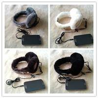 Real lamb fur  iphone earmuff