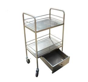 Medical treatment cart with drawers RCS-0225