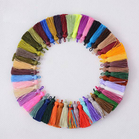 49 Colors Knitting Tassel