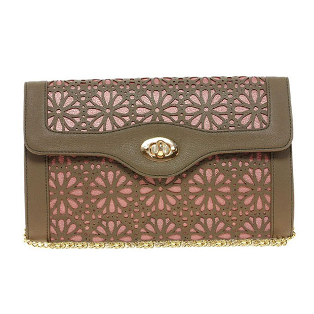 Woman wallet with chain PU Lovely style