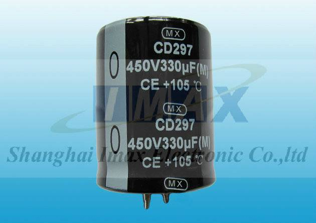 450V 470uf inverter large can capacitor