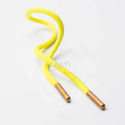 Polyester shoelaces drawcord for hoodies
