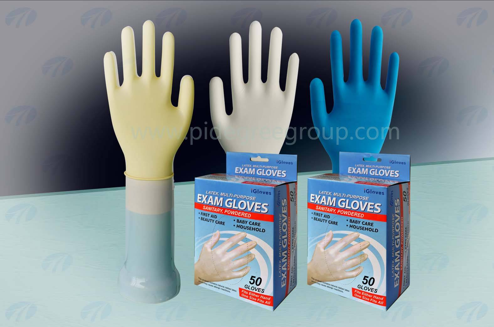 latex gloves sterile