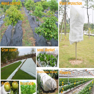 100% Virgin Pp Material Ground Cover