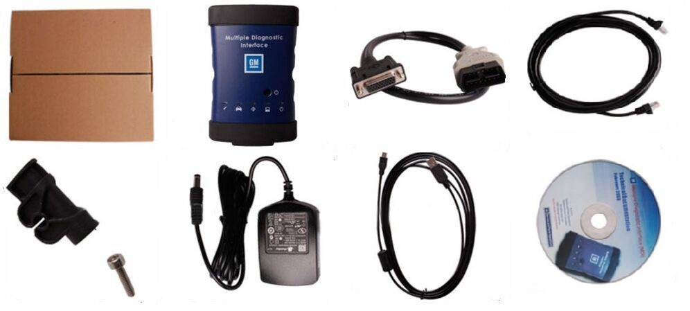 GM MDI Tech 3 diagnostic interface OEM Tech3 GM MDI scan tool work with GM MD...