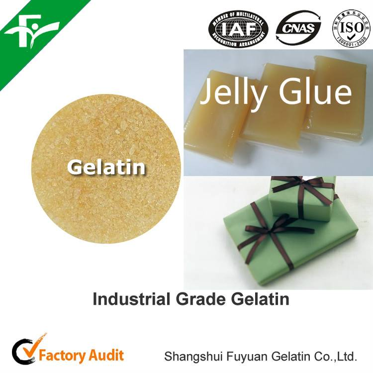 high quality best price Industrial grade gelatin for jelly glue