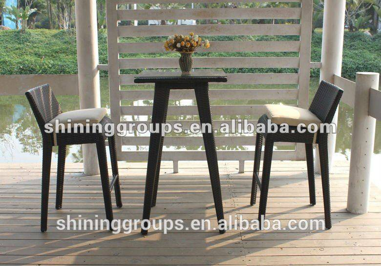 Low Price Modern Bar Stool High Chair Set C674