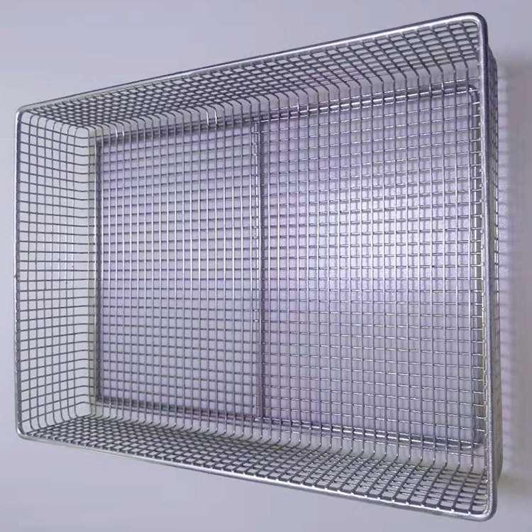 Welding Stainless Steel Wire Mesh Basket