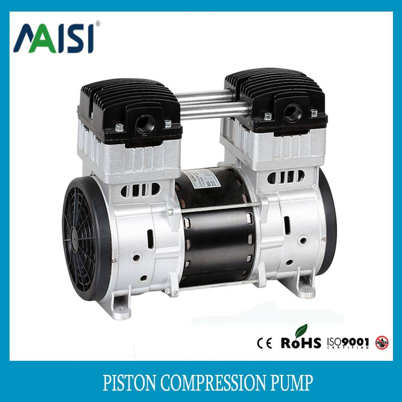 220V/110v ac silent piston air compressor pump