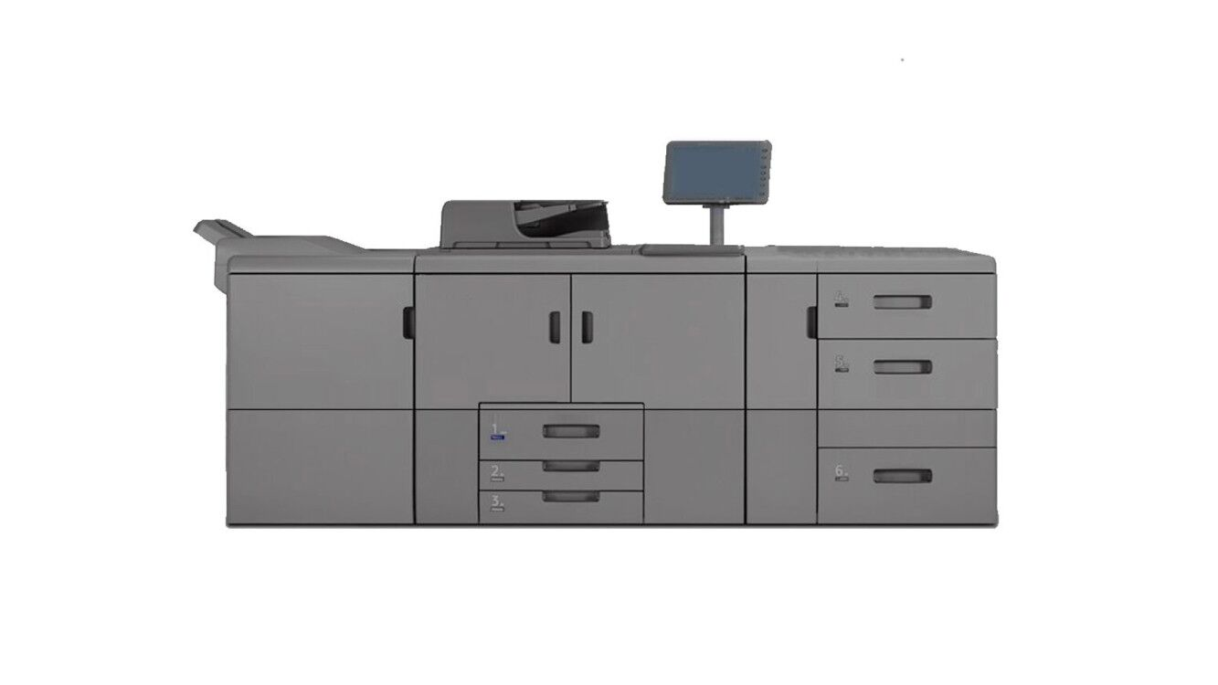 high speed digital black and white production copier printer