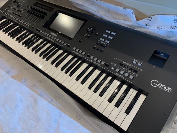 Yamaha Genos 76-key flagship arranger workstation keyboard +14704086638