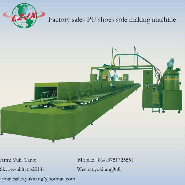 Low Pressure PU Shoe Foaming Machine
