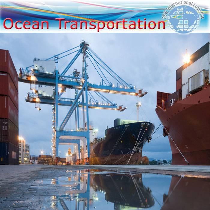 International Sea transportation from Wuhan/Tianjin/Nanjing to Sfax