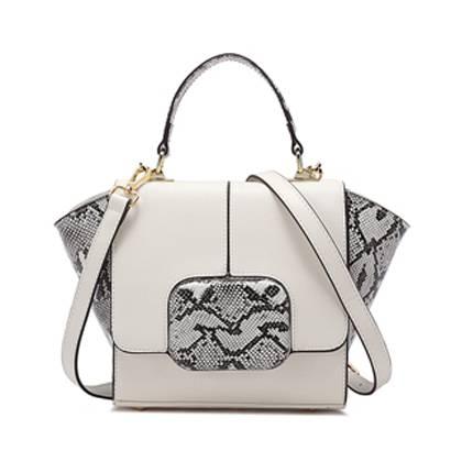 Women's handbag shoulder bag PU Leather Bat Wings Locomotive Style Cross Body Shoulder Handbag