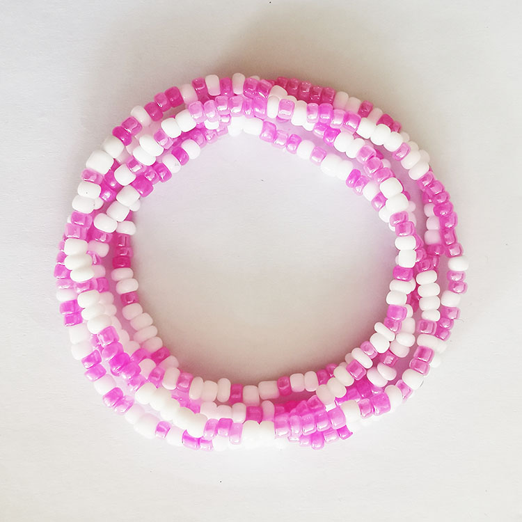 2021 New Summer Jewelry Waist Chain Colorful Waist Bead Body Chain navel chain Bikini Jewelry
