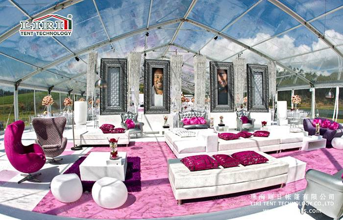 High Quality Clear tent / transparent tent / clear top tent For VIP with chairs and tables