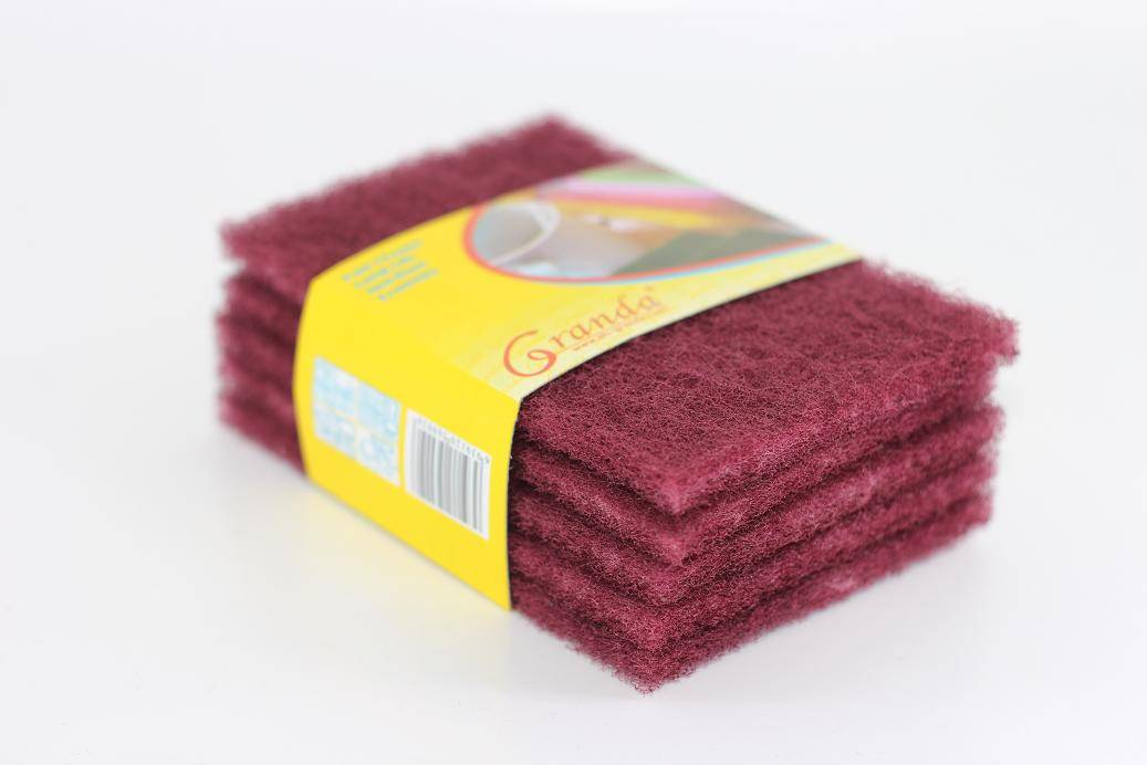 5-Pack High Quality Pad Scouring,Non Scratch Nylon Scour Pad