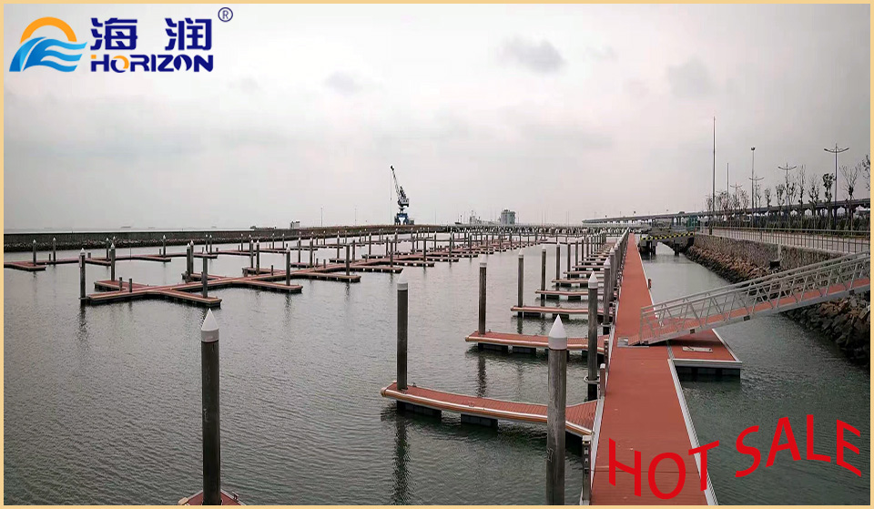 Hot Dipped Galvanized Steel Frame Floating Dock with Qualified Pontoon