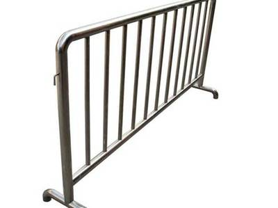 Stainless steel Galvanized Steel Crowd Control Barriers