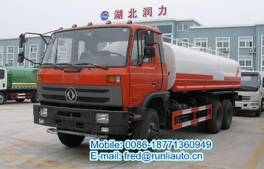 Dongfeng 6*2 16cbm water tank truck