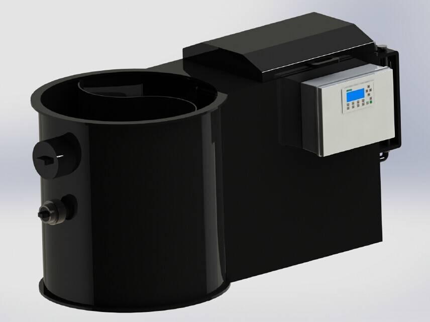 system filter 20 for 35 m3 pond